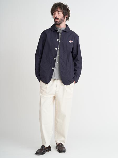 Bshopの【DANTON】丸襟シングルジャケット DUK MENを使ったコーディネートを紹介します。|Rakuten Fashion(楽天ファッション/旧楽天ブランドアベニュー)1104532