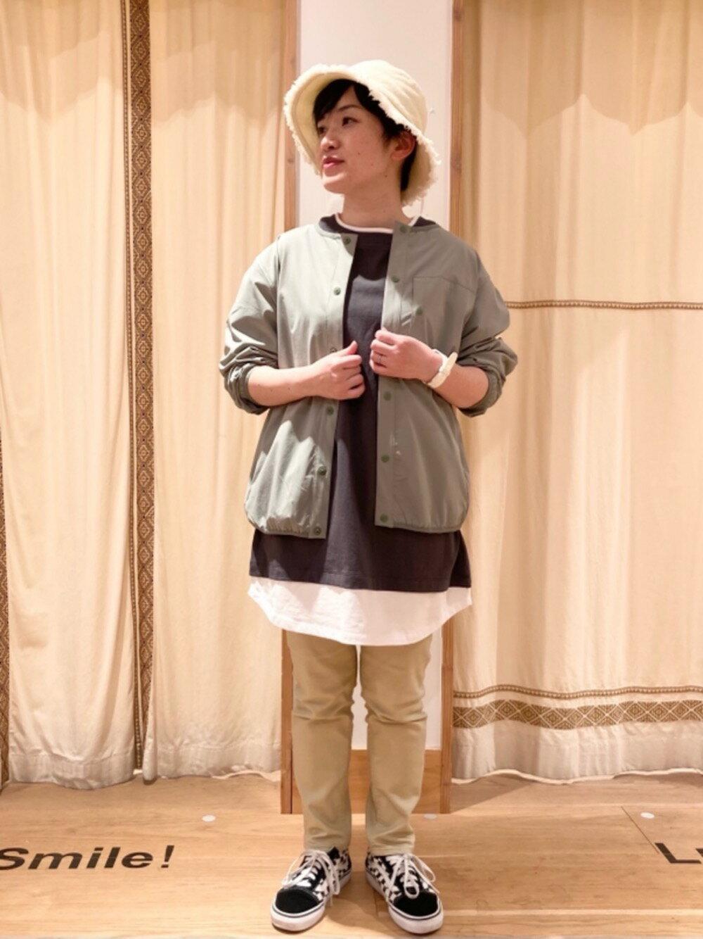 coenの【WEB限定サイズ:XL】ストレッチイージースリムパンツを使ったコーディネートを紹介します。|Rakuten Fashion(楽天ファッション/旧楽天ブランドアベニュー)1106215