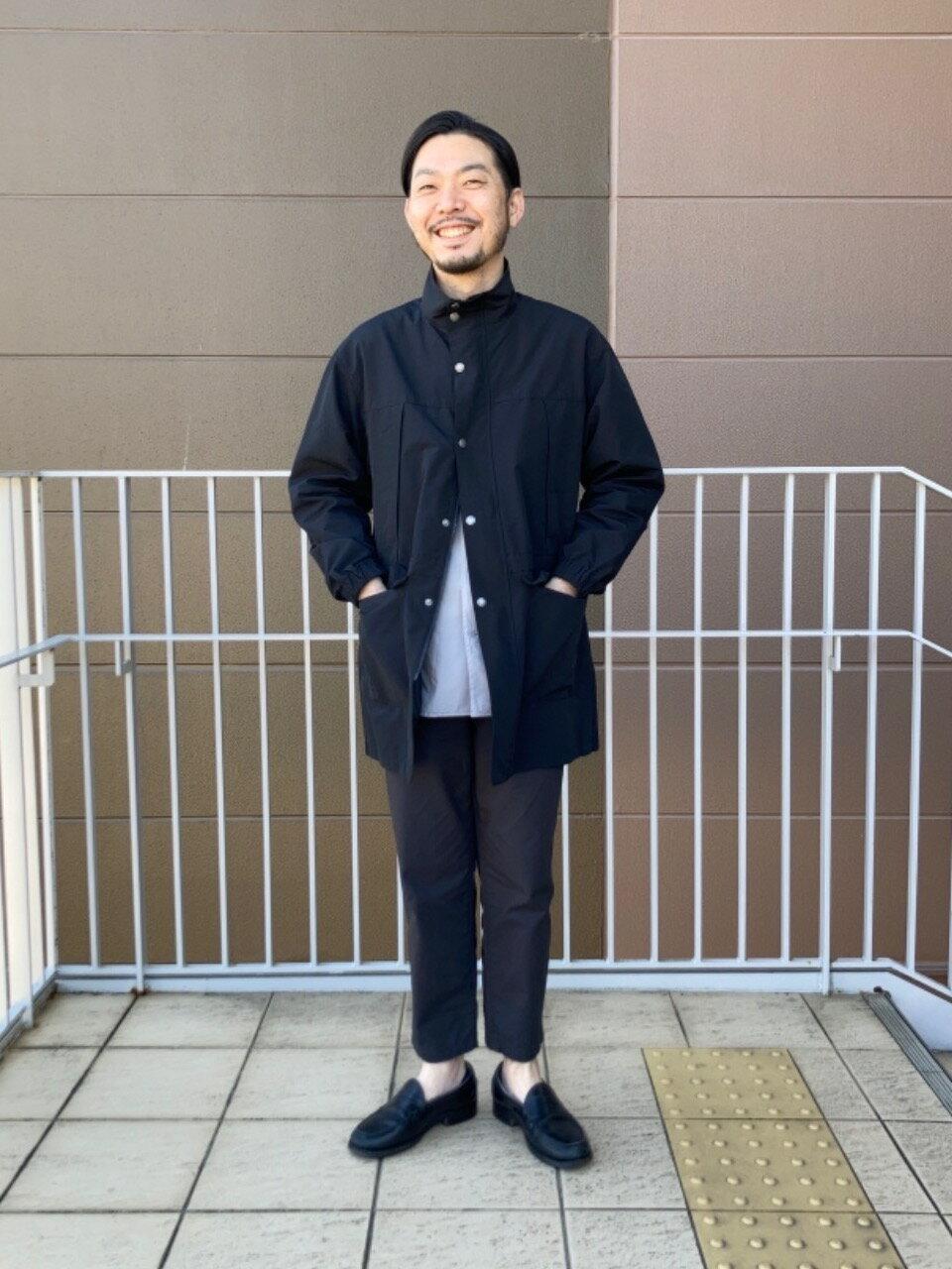 coenのポプリンオーバーダイレギュラーシャツを使ったコーディネートを紹介します。|Rakuten Fashion(楽天ファッション/旧楽天ブランドアベニュー)1106301