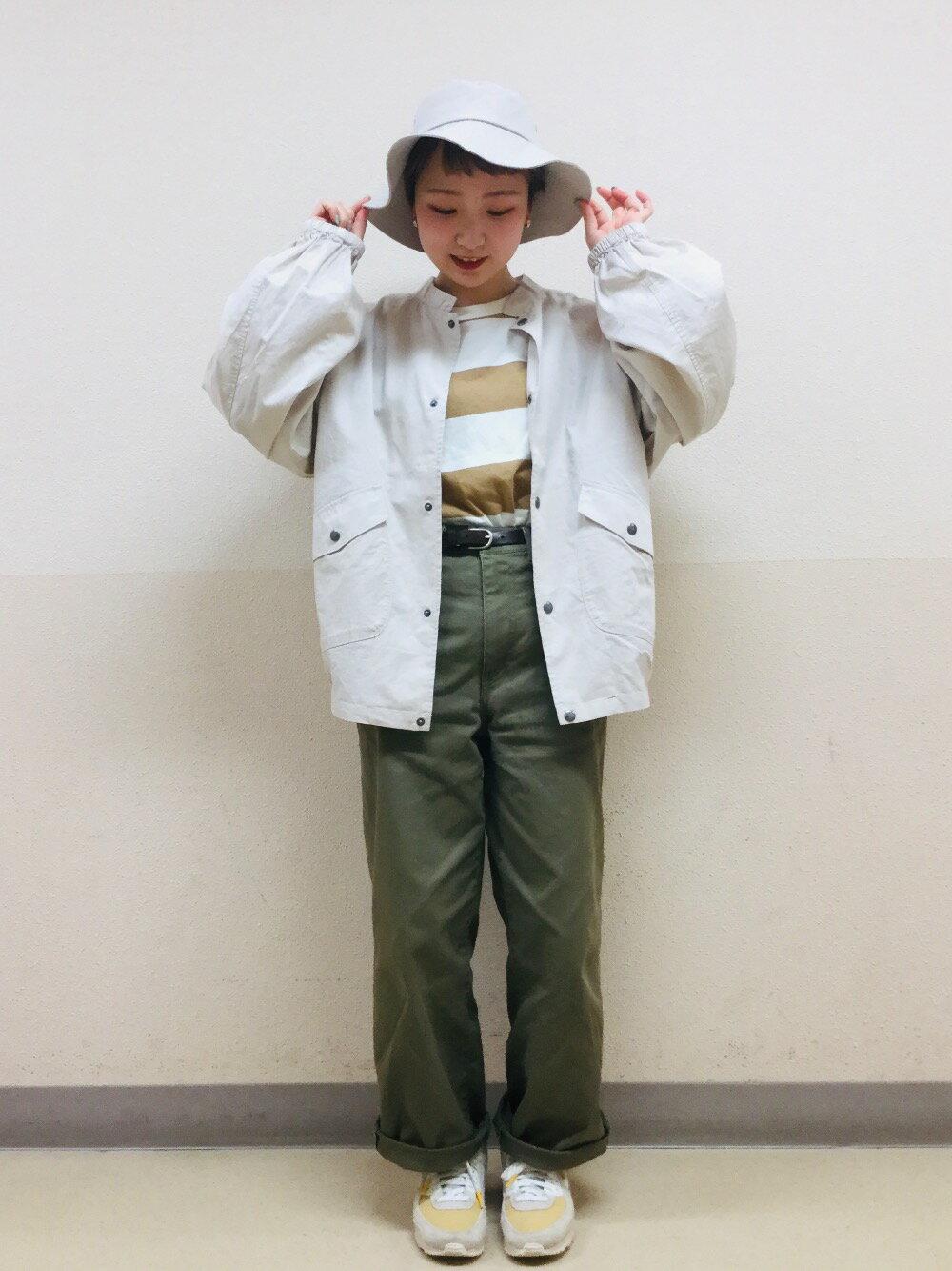 coenの【WEB限定カラー/サイズ】ニュアンスカラーワイドパンツ#を使ったコーディネートを紹介します。|Rakuten Fashion(楽天ファッション/旧楽天ブランドアベニュー)1106116