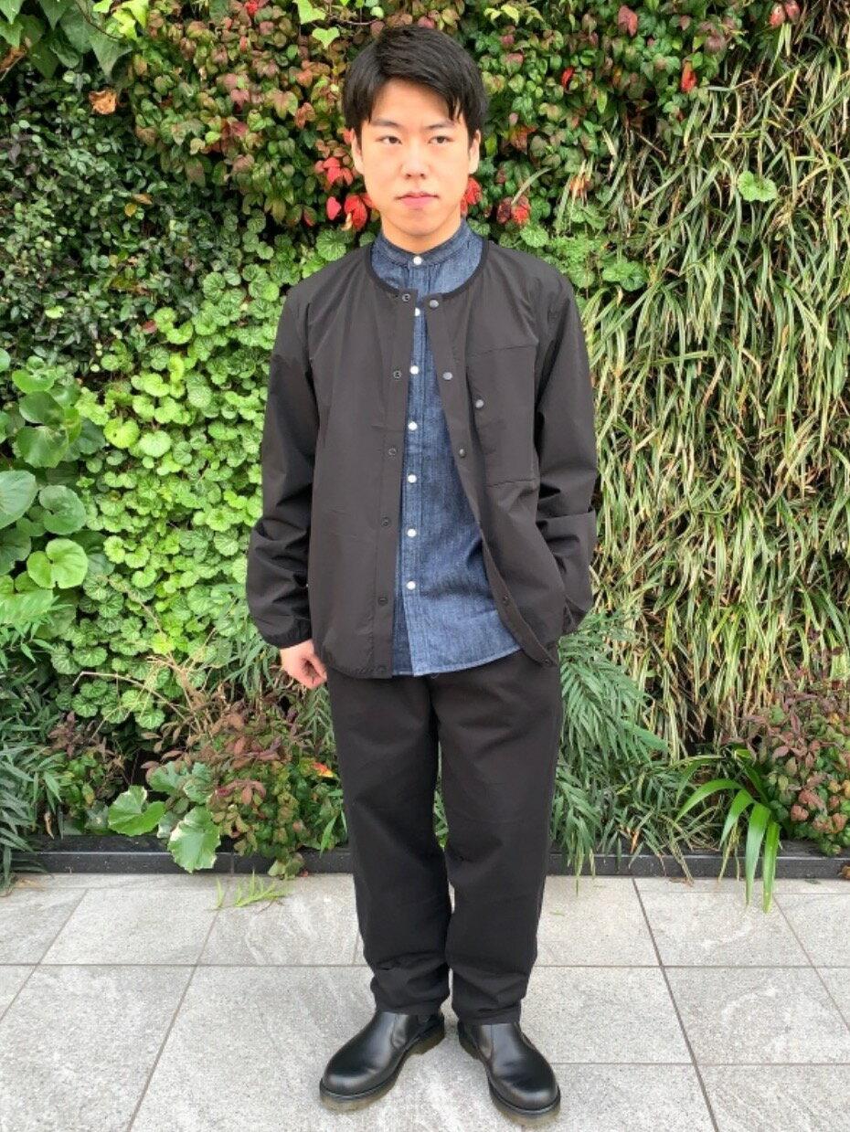 coenのSIERRATEXノーカラーブルゾン#を使ったコーディネートを紹介します。|Rakuten Fashion(楽天ファッション/旧楽天ブランドアベニュー)1106485