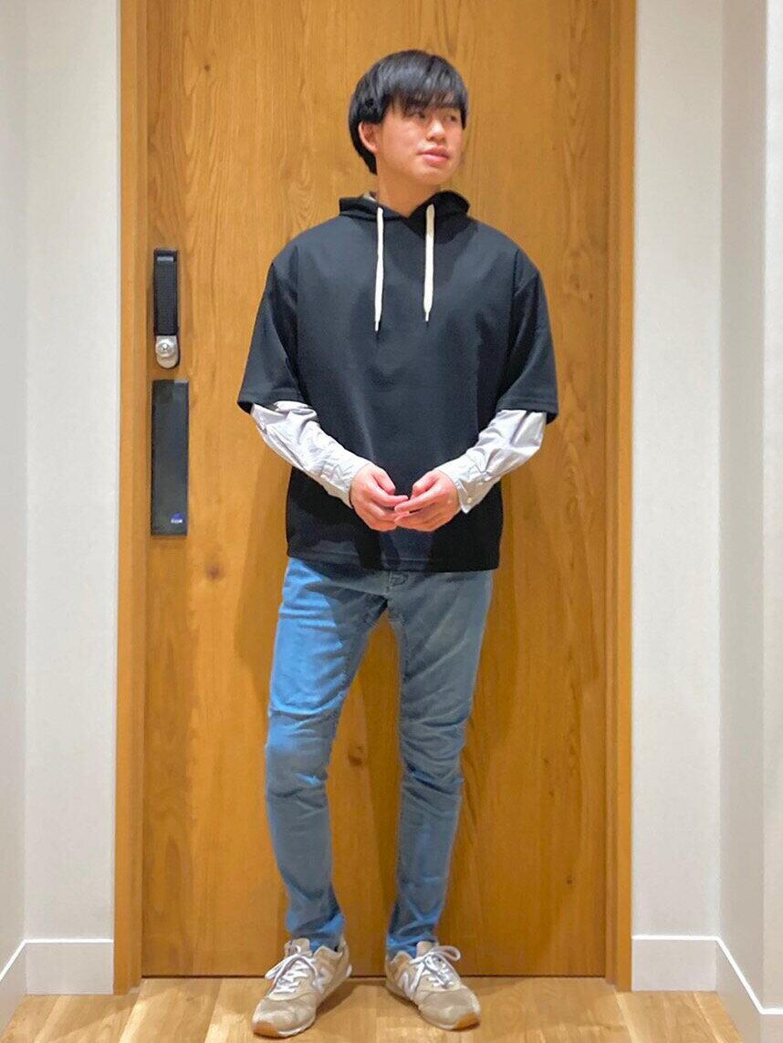 coenのストレッチスキニーデニムクライミングパンツ(一部WEB限定カラー)を使ったコーディネートを紹介します。|Rakuten Fashion(楽天ファッション/旧楽天ブランドアベニュー)1106477