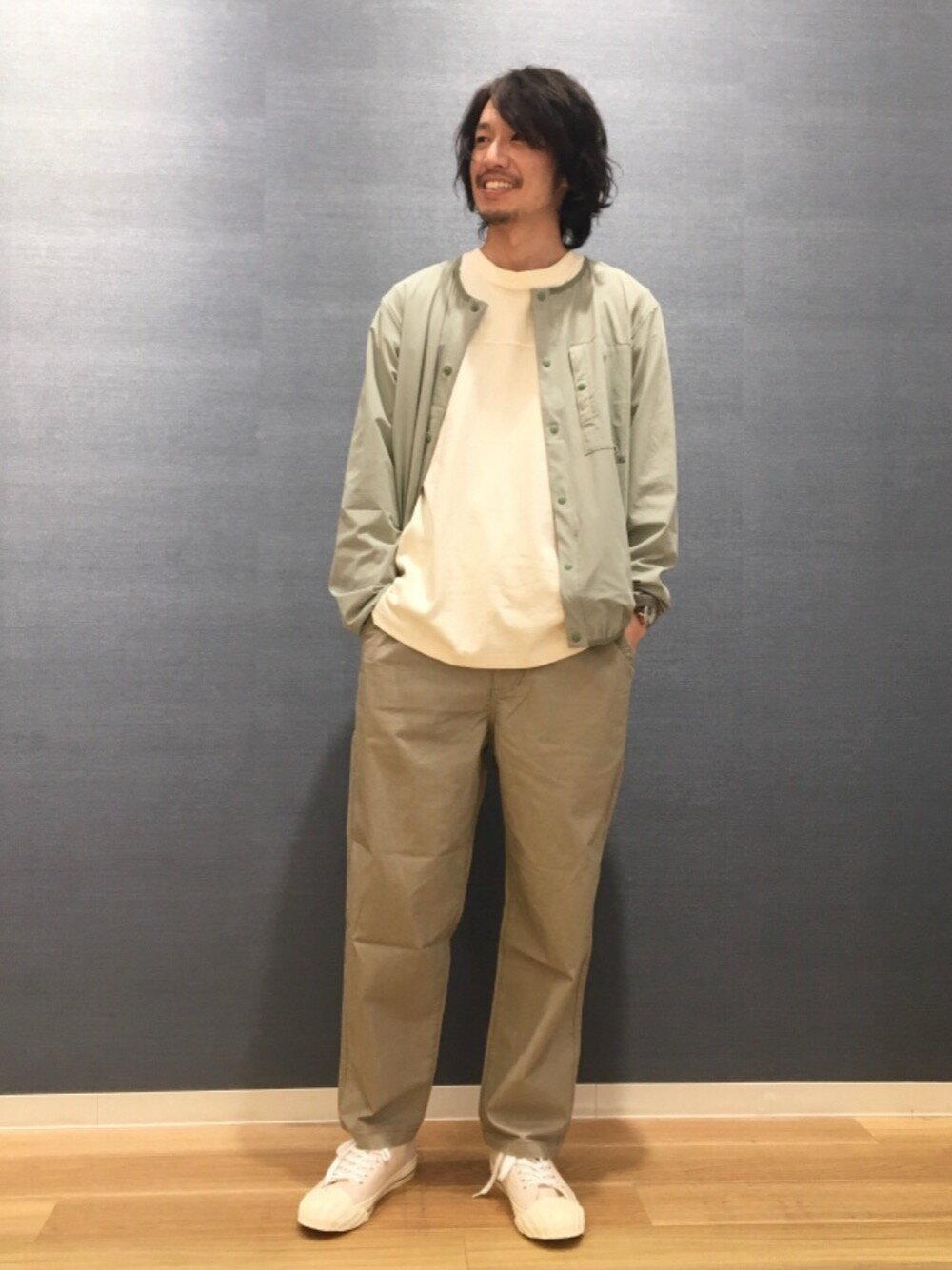 coenのUSAコットンフットボール7分袖ラインTシャツ#を使ったコーディネートを紹介します。|Rakuten Fashion(楽天ファッション/旧楽天ブランドアベニュー)1106498