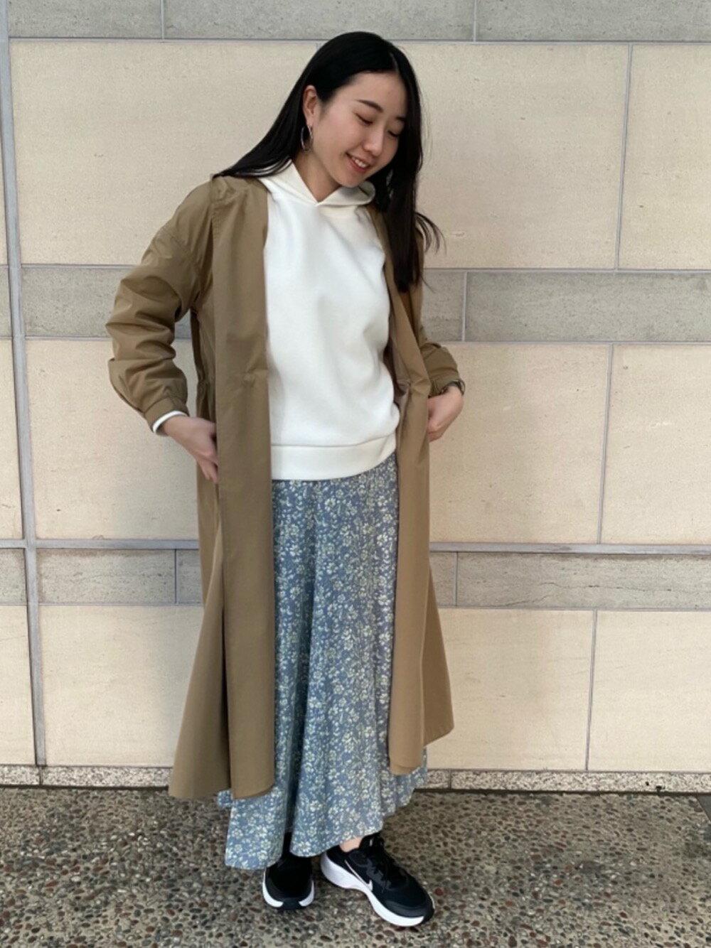 THE STATION STORE UNITED ARROWS LTD.の<closet story>HOODED ロングコートを使ったコーディネートを紹介します。|Rakuten Fashion(楽天ファッション/旧楽天ブランドアベニュー)1106598