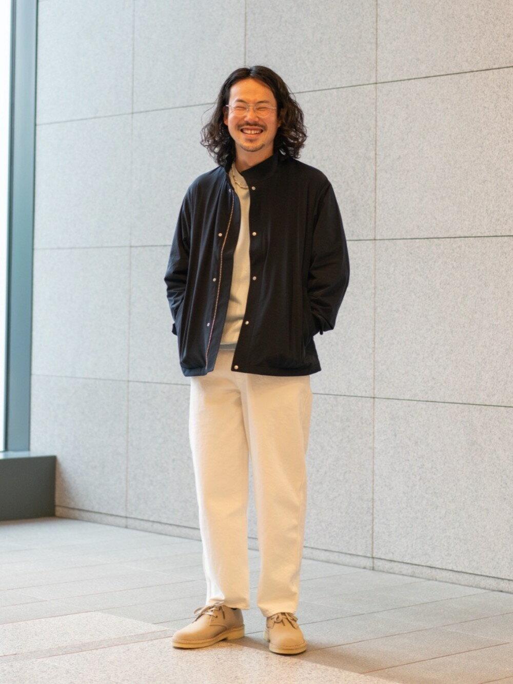 BEAUTY & YOUTH UNITED ARROWSのBY ハイゲージ ジャージ レイズドネック ジップ ブルゾンを使ったコーディネートを紹介します。|Rakuten Fashion(楽天ファッション/旧楽天ブランドアベニュー)1107335