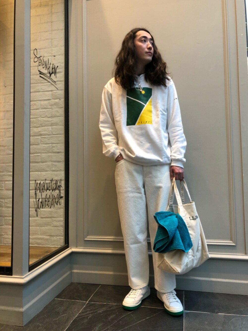 BEAUTY & YOUTH UNITED ARROWSのBY バルーンシルエット 5P スラブデニムパンツを使ったコーディネートを紹介します。|Rakuten Fashion(楽天ファッション/旧楽天ブランドアベニュー)1107349