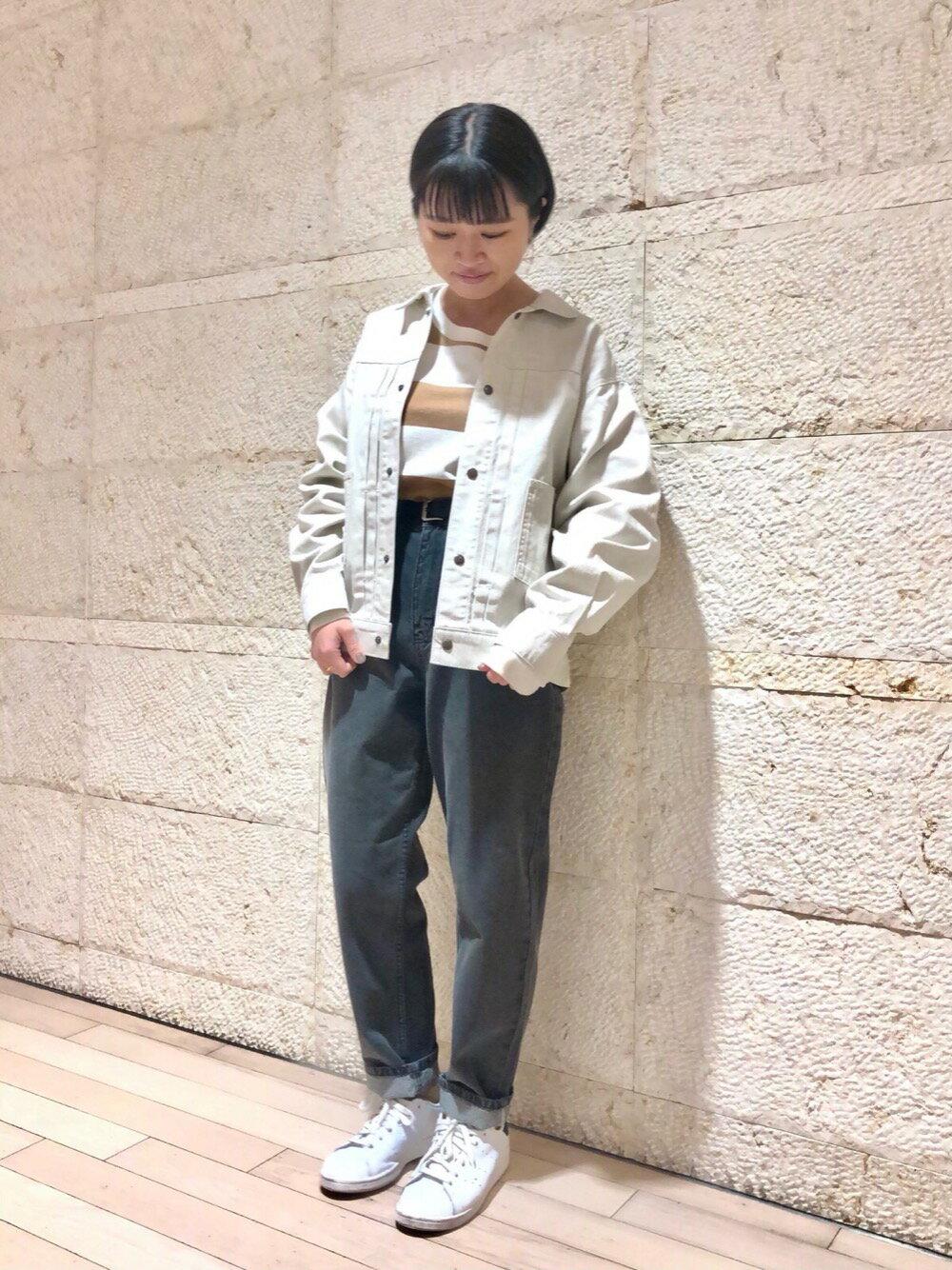 coenのUSAコットンオーバーサイズインレイワイドボーダーTシャツ#を使ったコーディネートを紹介します。 Rakuten Fashion(楽天ファッション/旧楽天ブランドアベニュー)1107621