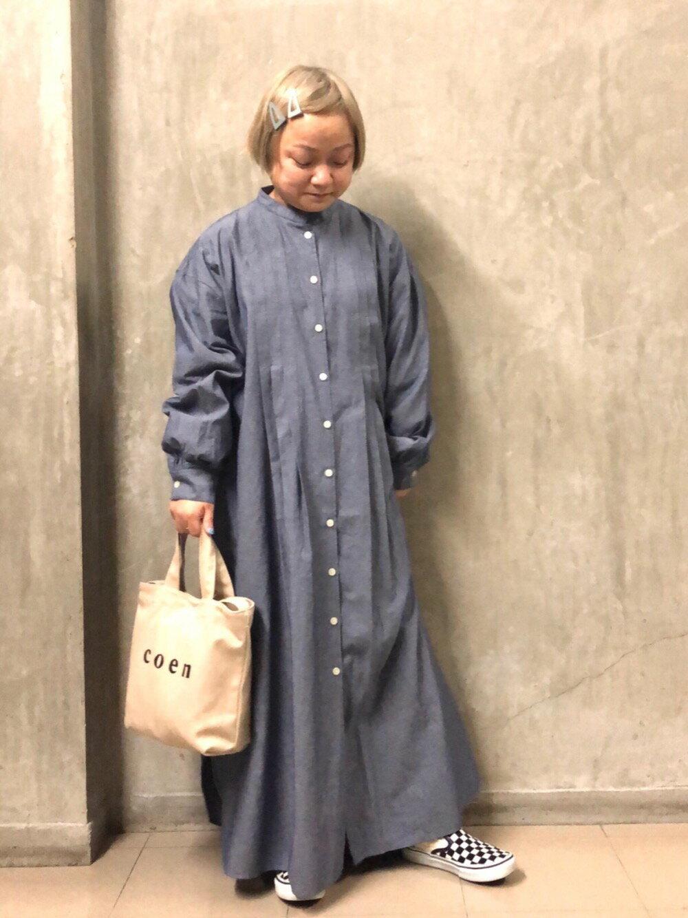 coenのテーパードコクーンデニムパンツ#を使ったコーディネートを紹介します。|Rakuten Fashion(楽天ファッション/旧楽天ブランドアベニュー)1107694