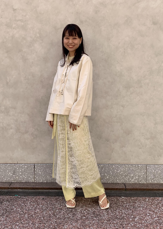 ADAM ET ROPE'の【SETアイテム】レース付サテンパンツを使ったコーディネートを紹介します。|Rakuten Fashion(楽天ファッション/旧楽天ブランドアベニュー)1108759
