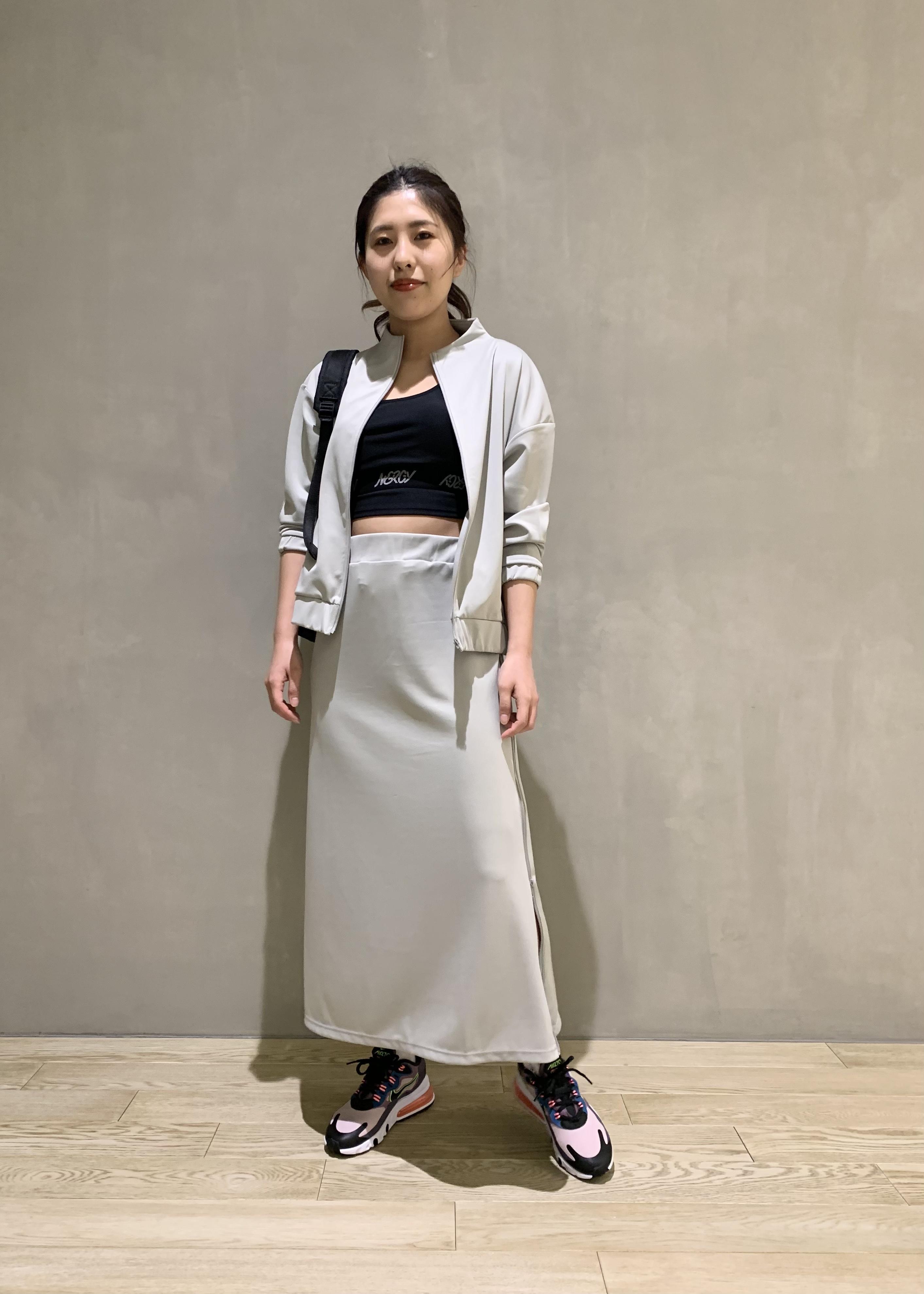 NERGYの【Athlounge】接触冷感&UV ブルゾンを使ったコーディネートを紹介します。|Rakuten Fashion(楽天ファッション/旧楽天ブランドアベニュー)1108881