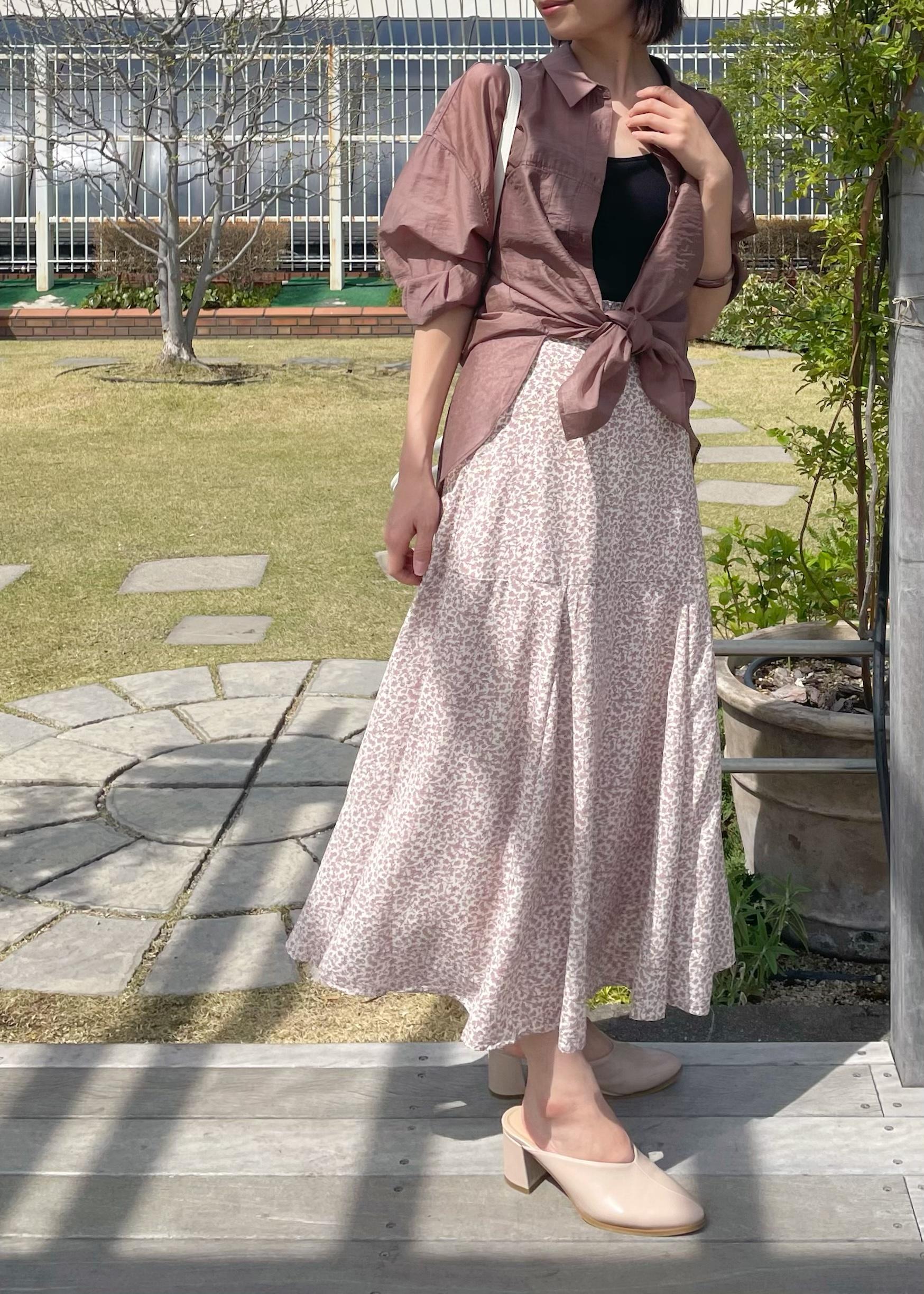 ViSのVカットミュールを使ったコーディネートを紹介します。|Rakuten Fashion(楽天ファッション/旧楽天ブランドアベニュー)1108816