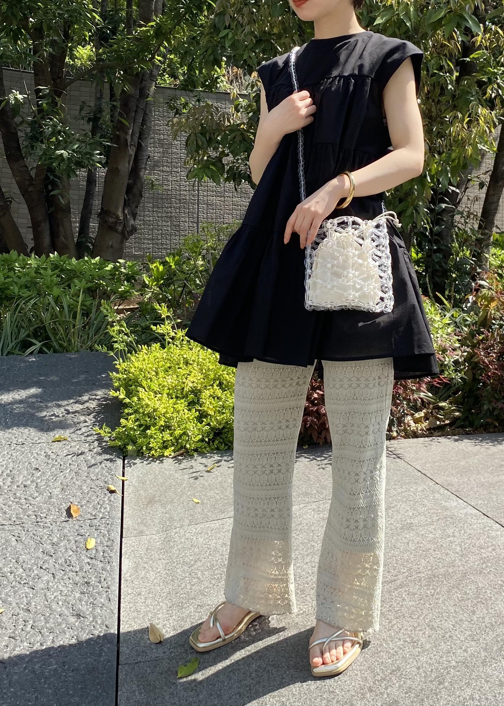 ViSのナロートングフラットサンダルを使ったコーディネートを紹介します。|Rakuten Fashion(楽天ファッション/旧楽天ブランドアベニュー)1108984