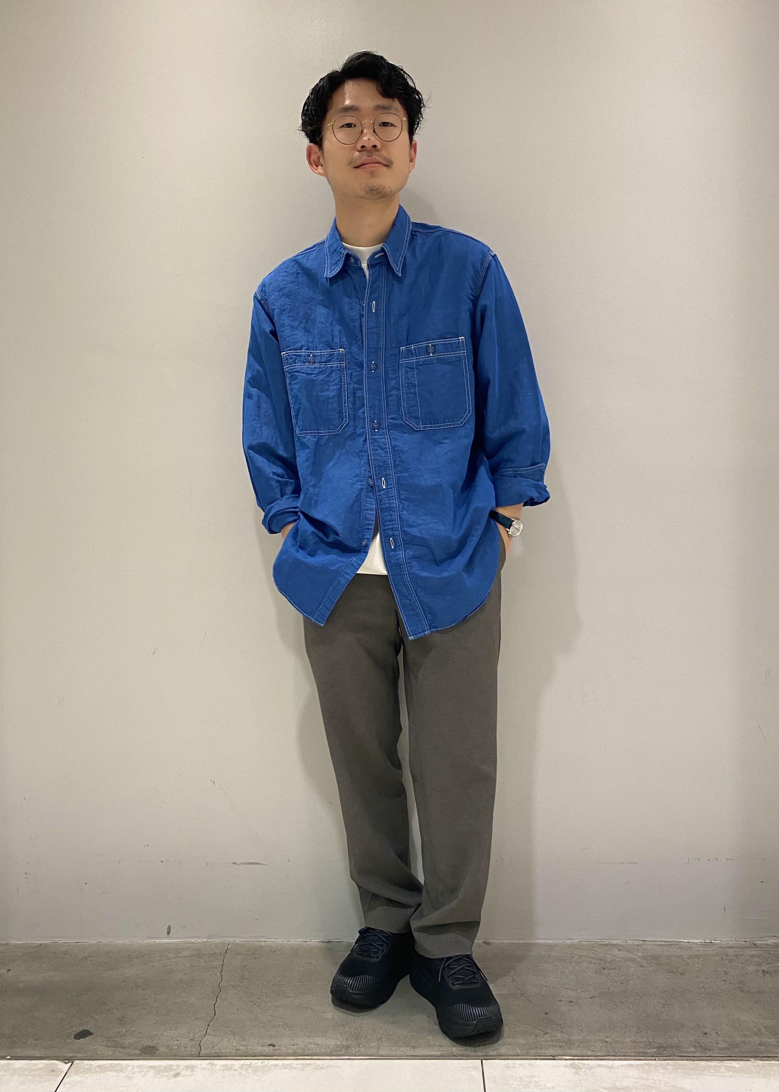 ADAM ET ROPE'の【RIRANCHA】Quickdry 吸水速乾ワイドイージーパンツを使ったコーディネートを紹介します。 Rakuten Fashion(楽天ファッション/旧楽天ブランドアベニュー)1110414