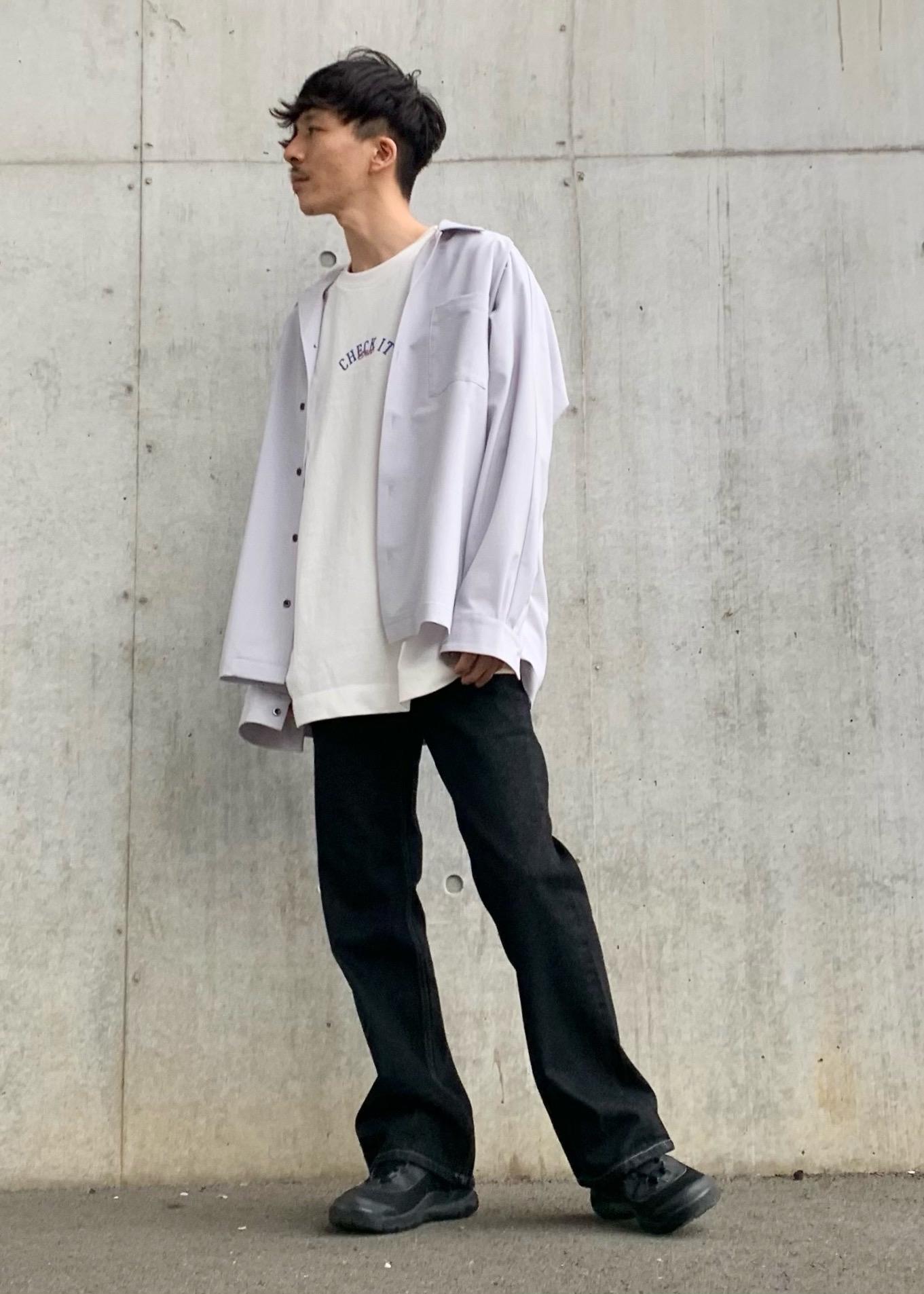 JUNRedの【セットアップ対応】エアリーストレッチ長袖シャツを使ったコーディネートを紹介します。 Rakuten Fashion(楽天ファッション/旧楽天ブランドアベニュー)1110457