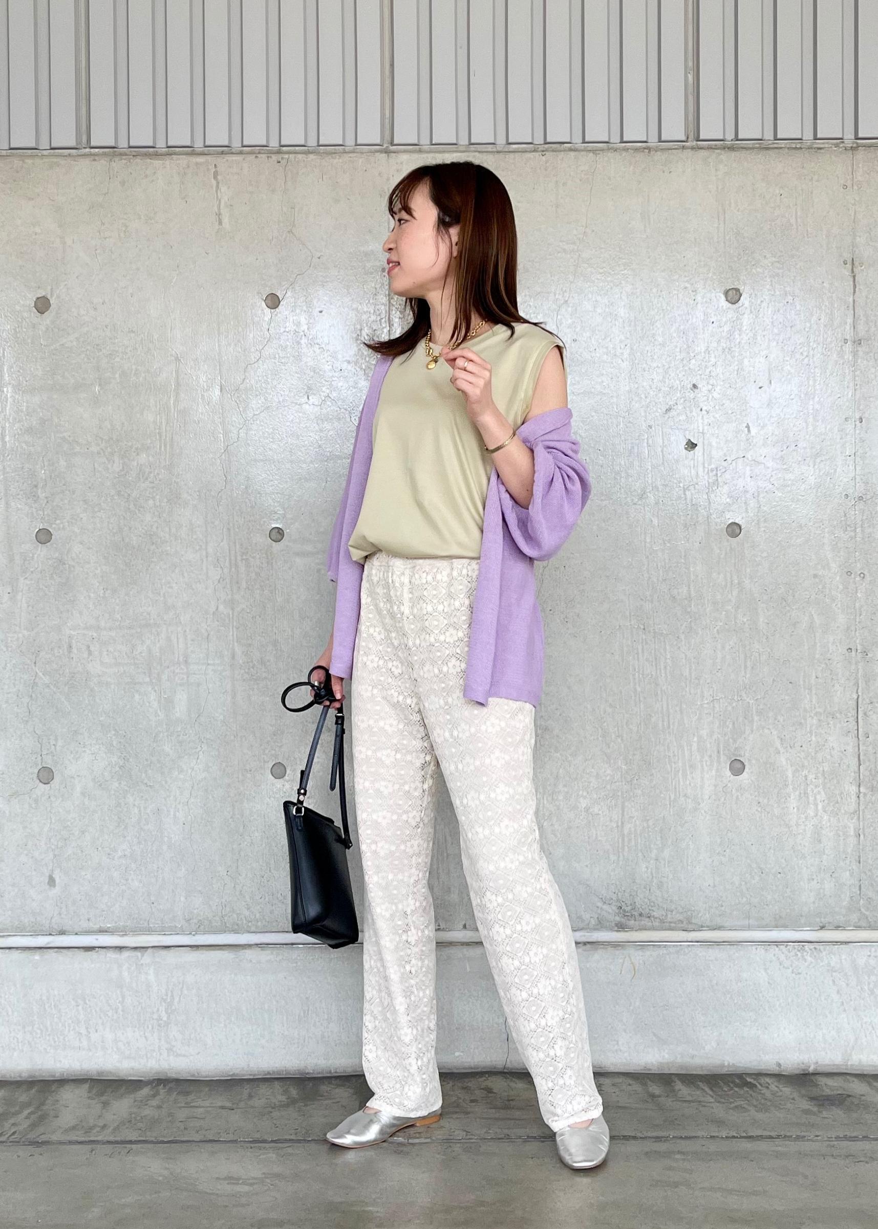 ROPE'の【前後2WAY】カシュクールフレアスリーブカーディガンを使ったコーディネートを紹介します。 Rakuten Fashion(楽天ファッション/旧楽天ブランドアベニュー)1110607