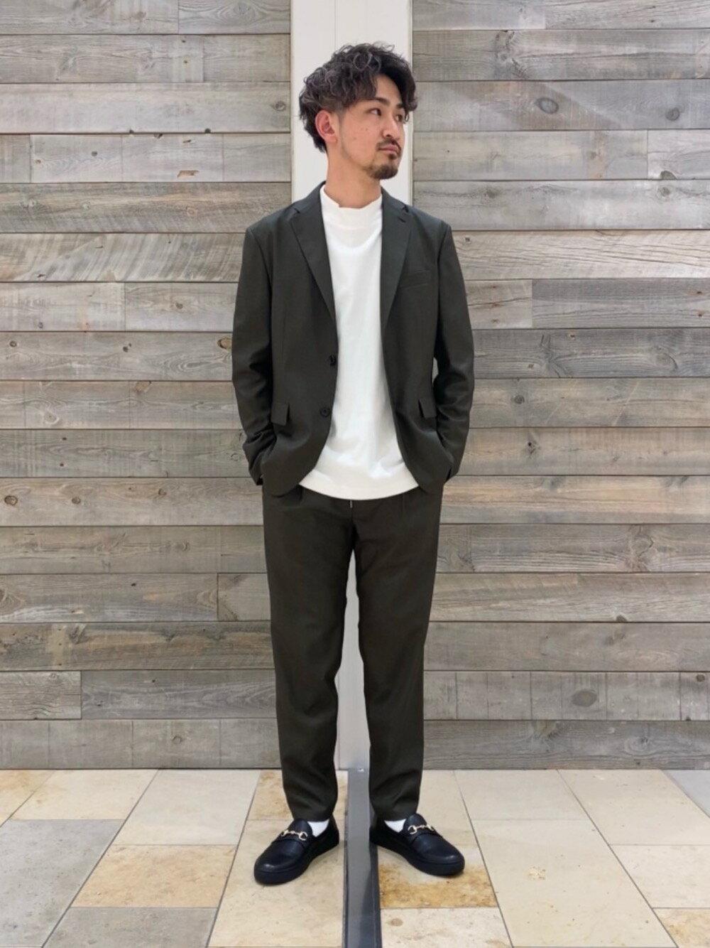 BEAUTY & YOUTH UNITED ARROWSのBY TORAY GROSSY 2B ジャケット 【セットアップ対応】を使ったコーディネートを紹介します。|Rakuten Fashion(楽天ファッション/旧楽天ブランドアベニュー)1114911
