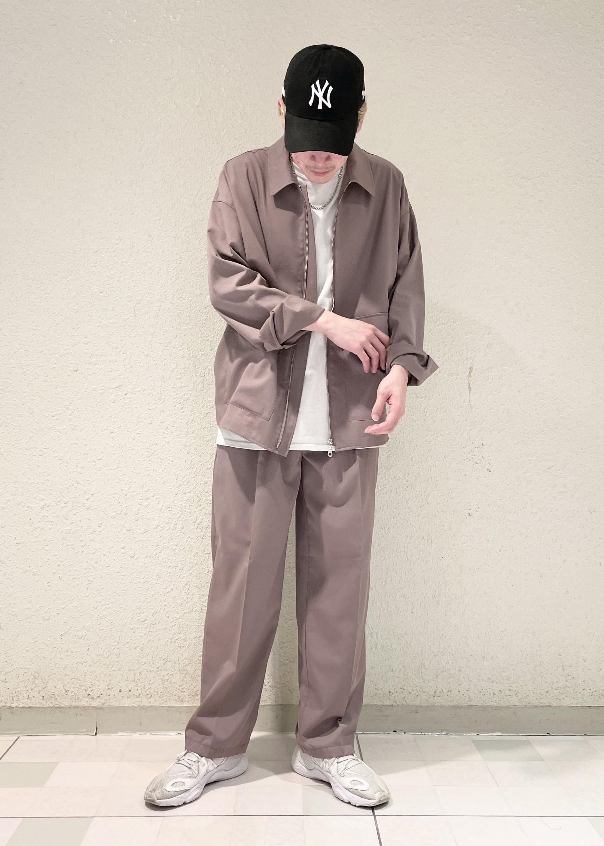 JUNRedの【セットアップ対応】NEWテクスチャーTRブルゾンを使ったコーディネートを紹介します。 Rakuten Fashion(楽天ファッション/旧楽天ブランドアベニュー)1116475