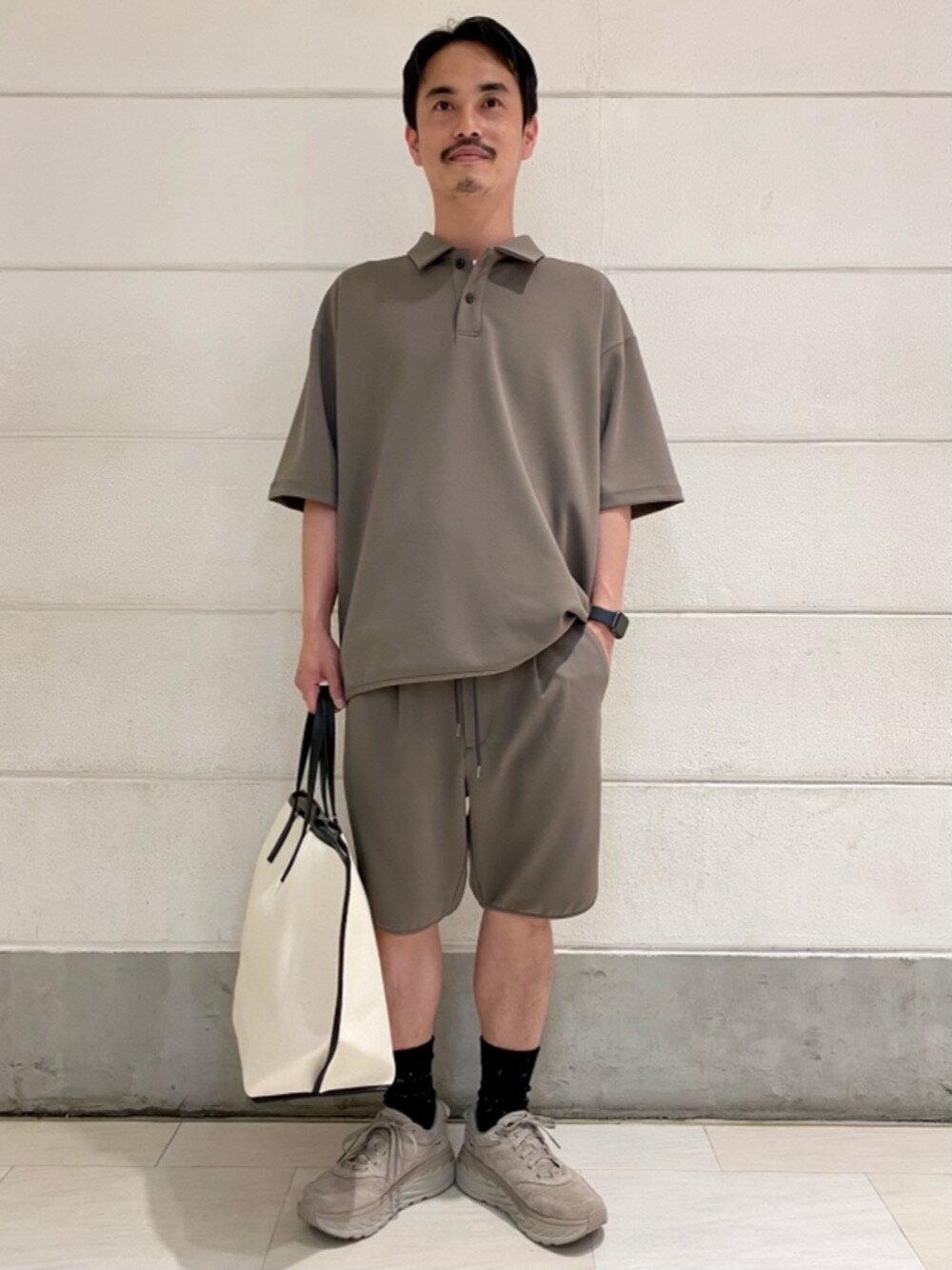 BEAUTY & YOUTH UNITED ARROWSのBY デュアルパック ワイド ポロシャツ 【セットアップ対応】を使ったコーディネートを紹介します。|Rakuten Fashion(楽天ファッション/旧楽天ブランドアベニュー)1117161