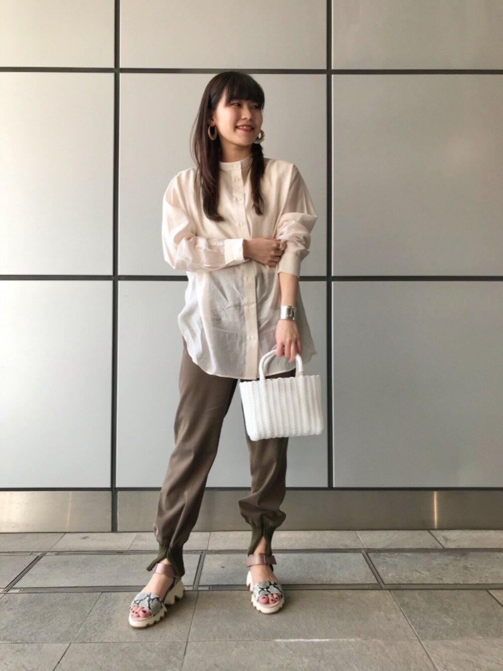 Odette e OdileのDiminutivo TubeTOTE miniを使ったコーディネートを紹介します。|Rakuten Fashion(楽天ファッション/旧楽天ブランドアベニュー)1117315