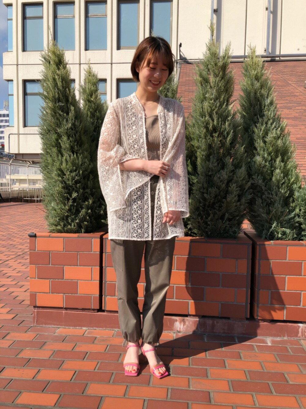 Odette e OdileのOID バイカラーベルト サンダル60↓↑を使ったコーディネートを紹介します。|Rakuten Fashion(楽天ファッション/旧楽天ブランドアベニュー)1117302