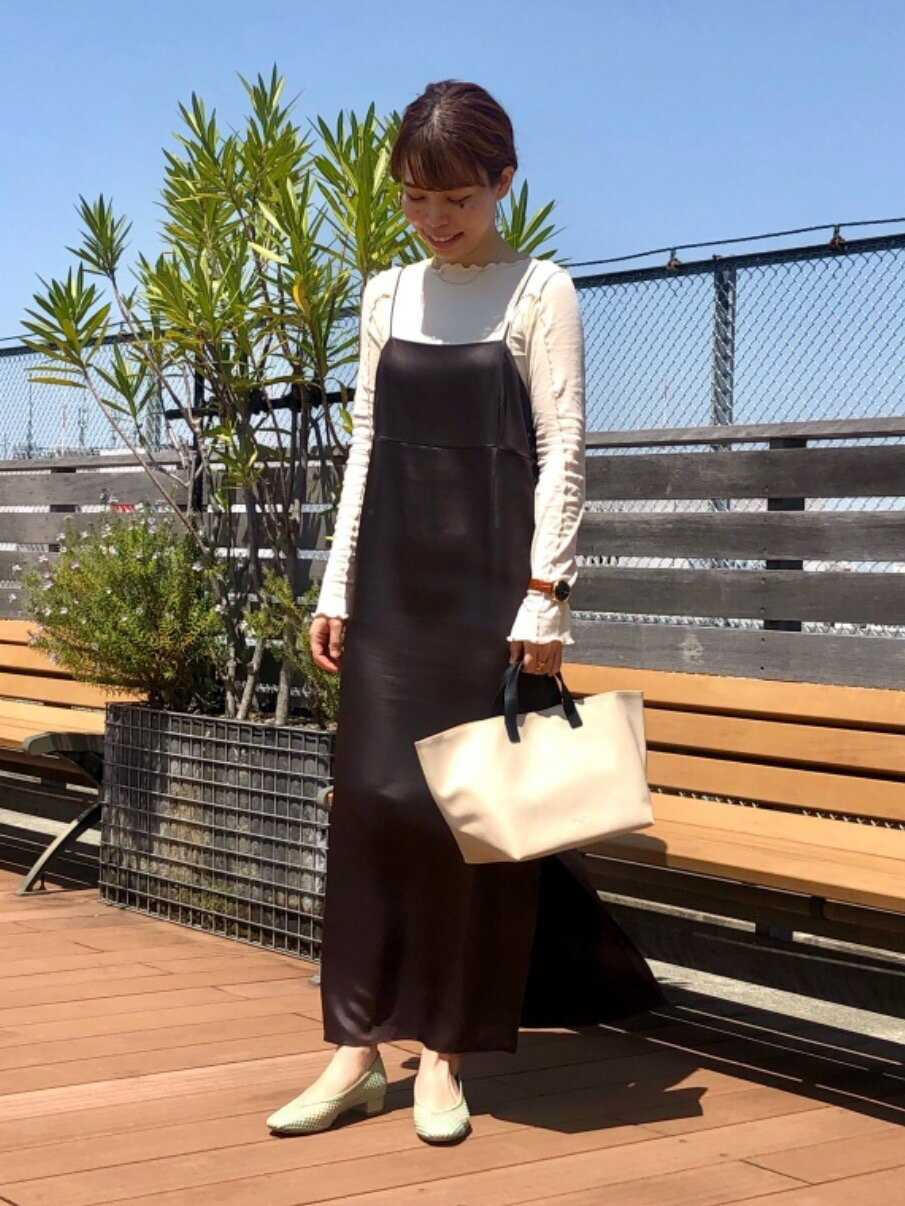 Odette e OdileのORCIVAL ColorsTOTEを使ったコーディネートを紹介します。|Rakuten Fashion(楽天ファッション/旧楽天ブランドアベニュー)1117332