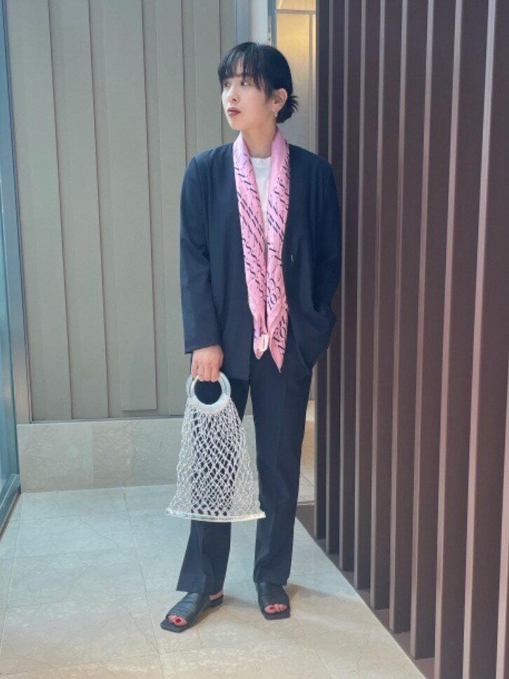 UNITED ARROWSのUWCMD スクエア ミュール フラット サンダルを使ったコーディネートを紹介します。|Rakuten Fashion(楽天ファッション/旧楽天ブランドアベニュー)1117499