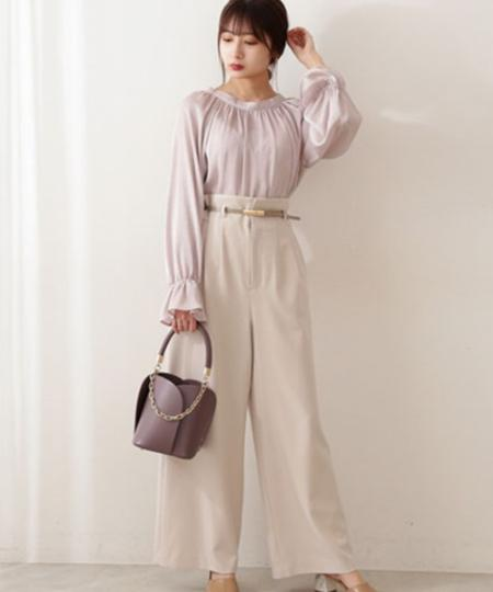 PROPORTION BODY DRESSINGの 美人百花 6月号掲載 ペタルバッグを使ったコーディネートを紹介します。 Rakuten Fashion(楽天ファッション/旧楽天ブランドアベニュー)1105523