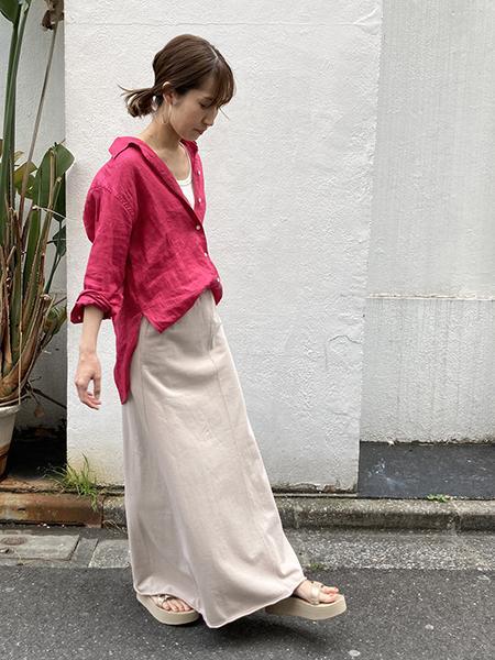 FRAMeWORKのFRENCH LINEN シャツ◆を使ったコーディネートを紹介します。|Rakuten Fashion(楽天ファッション/旧楽天ブランドアベニュー)1105542