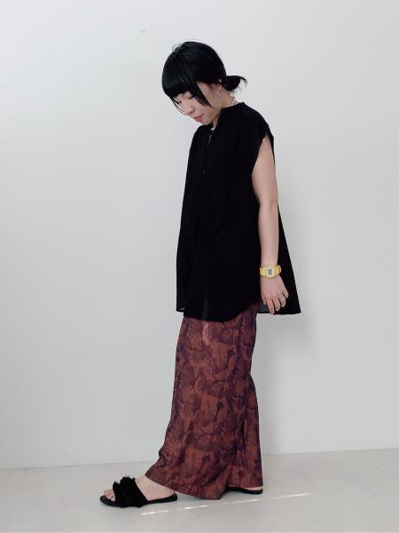 Bou Jeloudのリーフジャガードパンツを使ったコーディネートを紹介します。|Rakuten Fashion(楽天ファッション/旧楽天ブランドアベニュー)1105604