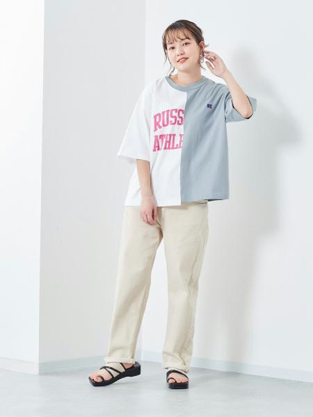 cepoのCEPO/(W)デニムクロップドを使ったコーディネートを紹介します。|Rakuten Fashion(楽天ファッション/旧楽天ブランドアベニュー)1105675