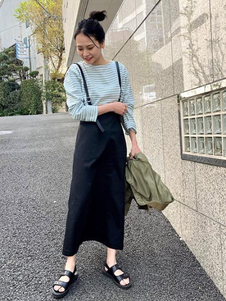 JOURNAL STANDARDのコットンチノ サスペンダースカート◆を使ったコーディネートを紹介します。|Rakuten Fashion(楽天ファッション/旧楽天ブランドアベニュー)1105692