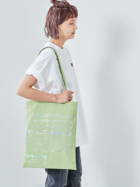 cepoの(W)ハクプリントトートを使ったコーディネートを紹介します。|Rakuten Fashion(楽天ファッション/旧楽天ブランドアベニュー)1107342