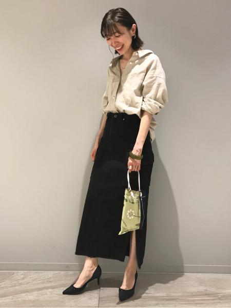 Le TalonのMANIPURI プリントトート◆を使ったコーディネートを紹介します。|Rakuten Fashion(楽天ファッション/旧楽天ブランドアベニュー)1107316