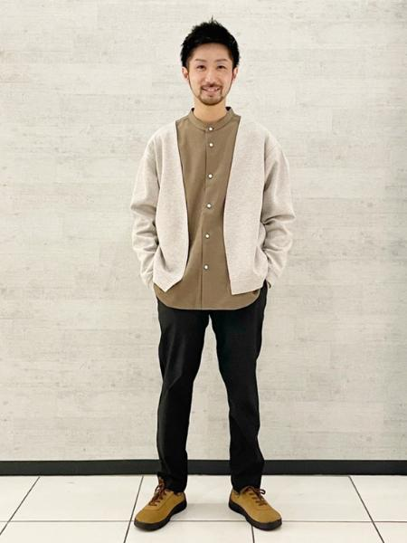 JOURNAL STANDARDのP/TORO STRETCH バンドカラー とろみシャツを使ったコーディネートを紹介します。|Rakuten Fashion(楽天ファッション/旧楽天ブランドアベニュー)1108003