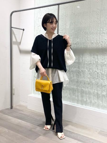 NOBLEのギャザーボリュームオーバーサイズシャツ◆を使ったコーディネートを紹介します。|Rakuten Fashion(楽天ファッション/旧楽天ブランドアベニュー)1108016