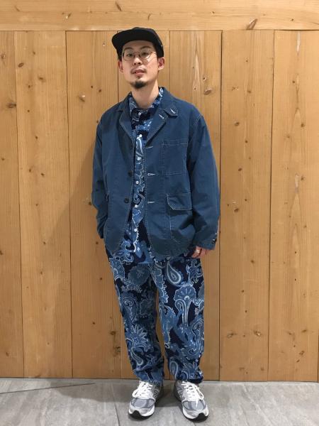 JOURNAL STANDARD relumeのインディゴ タック ラウンドイージーを使ったコーディネートを紹介します。|Rakuten Fashion(楽天ファッション/旧楽天ブランドアベニュー)1108033