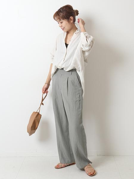 Spick&Spanの【JAMIRAY】イージーレザーバッグ◆を使ったコーディネートを紹介します。 Rakuten Fashion(楽天ファッション/旧楽天ブランドアベニュー)1108038