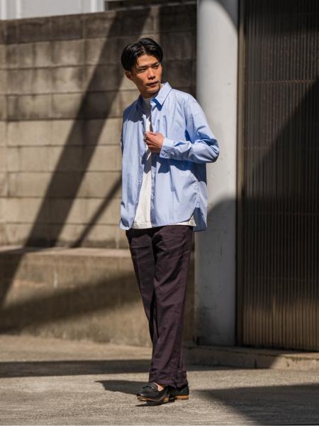 """EDIFICEの【BERNARD ZINS / ベルナール ザンス】for ED """"RASPAIL"""" ストライプを使ったコーディネートを紹介します。 Rakuten Fashion(楽天ファッション/旧楽天ブランドアベニュー)1108092"""