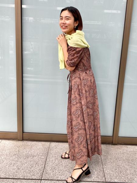 N. Natural Beauty Basic*のペイズリーシリーズ ワンピース<<S Size Line>>を使ったコーディネートを紹介します。|Rakuten Fashion(楽天ファッション/旧楽天ブランドアベニュー)1108275