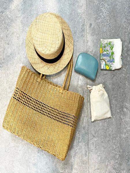 BEAMS WOMENのBEAMS BOY / ペーパー トートバッグを使ったコーディネートを紹介します。|Rakuten Fashion(楽天ファッション/旧楽天ブランドアベニュー)1108542