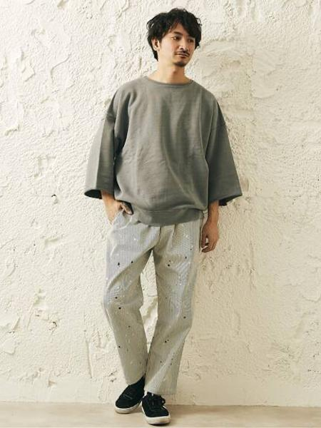 JOURNAL STANDARD relumeの【21SS】CALIFORNIA UPCYCLE カットオフ スウェットを使ったコーディネートを紹介します。 Rakuten Fashion(楽天ファッション/旧楽天ブランドアベニュー)1109403
