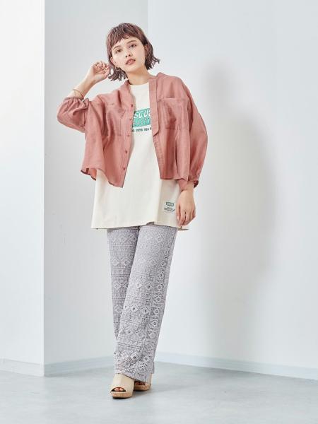 cepoのCEPO/(W)バックギャザーブラウスを使ったコーディネートを紹介します。|Rakuten Fashion(楽天ファッション/旧楽天ブランドアベニュー)1109468