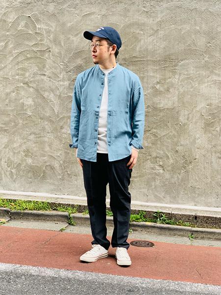 417 EDIFICEのSOLOTEX / ソロテックス トロ イージー アンクルスラックスを使ったコーディネートを紹介します。|Rakuten Fashion(楽天ファッション/旧楽天ブランドアベニュー)1109711