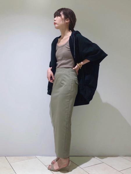 BABYLONEのコーマウラケzipパーカーを使ったコーディネートを紹介します。|Rakuten Fashion(楽天ファッション/旧楽天ブランドアベニュー)1109881