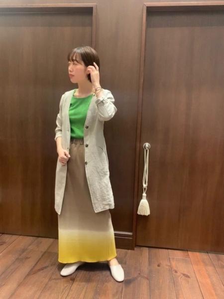 NOMBRE IMPAIRのrapiecage/オーバルフレームコードブレスレットを使ったコーディネートを紹介します。|Rakuten Fashion(楽天ファッション/旧楽天ブランドアベニュー)1109945