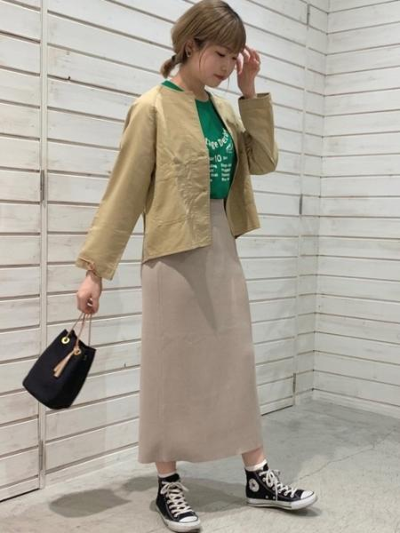 NOMBRE IMPAIRのNOMBRE IMPAIR/Derby PT半袖TEEを使ったコーディネートを紹介します。 Rakuten Fashion(楽天ファッション/旧楽天ブランドアベニュー)1109947