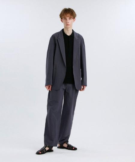 MACKINTOSH PHILOSOPHYのGREY LABEL コットンリネンドロストパンツを使ったコーディネートを紹介します。|Rakuten Fashion(楽天ファッション/旧楽天ブランドアベニュー)1110229