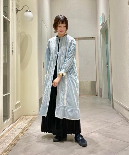 BEAMS WOMENのBEAMS BOY / ヴィンテージ レース ワンピースを使ったコーディネートを紹介します。 Rakuten Fashion(楽天ファッション/旧楽天ブランドアベニュー)1111321