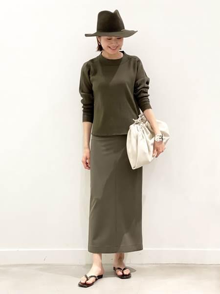 AP STUDIOの【STUDIO AMELIA/スタジオアメリア】クロコスクエアトゥトングを使ったコーディネートを紹介します。|Rakuten Fashion(楽天ファッション/旧楽天ブランドアベニュー)1111656