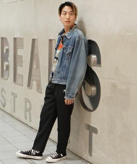 BEAMS MENのCONVERSE / ALL STAR JAPAN HIを使ったコーディネートを紹介します。|Rakuten Fashion(楽天ファッション/旧楽天ブランドアベニュー)1112916
